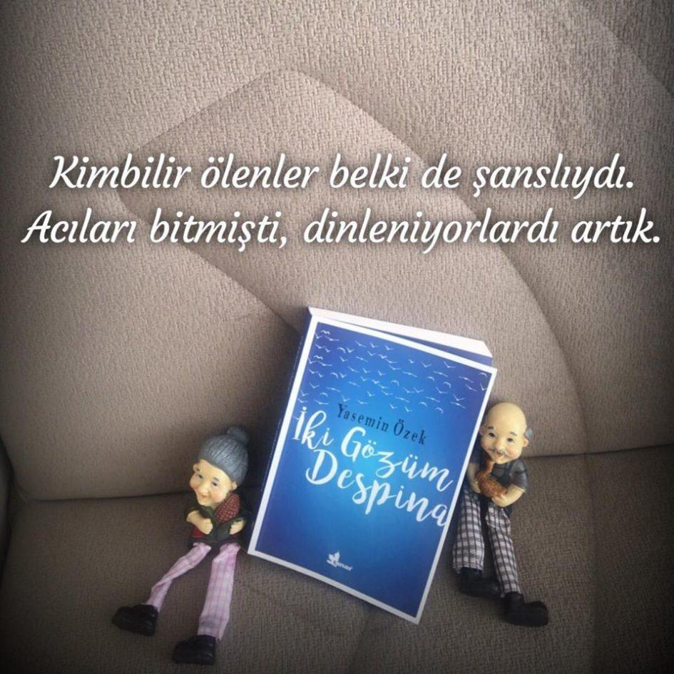 İki Gözüm Despina (Ölüm), Yasemin Özek
