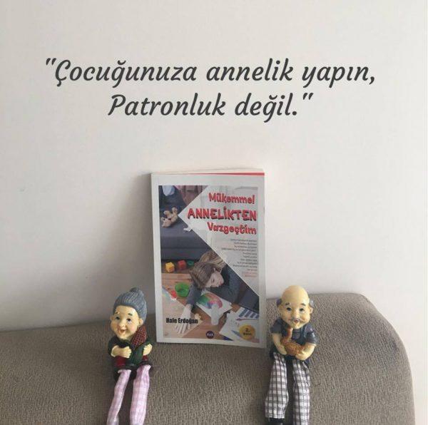 Mükemmel Annelikten Vazgeçtim, Hale Erdoğan