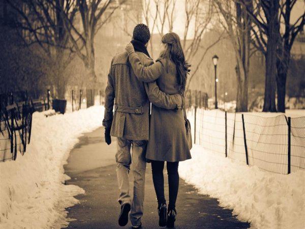 Romantik Kış Fotoğrafı