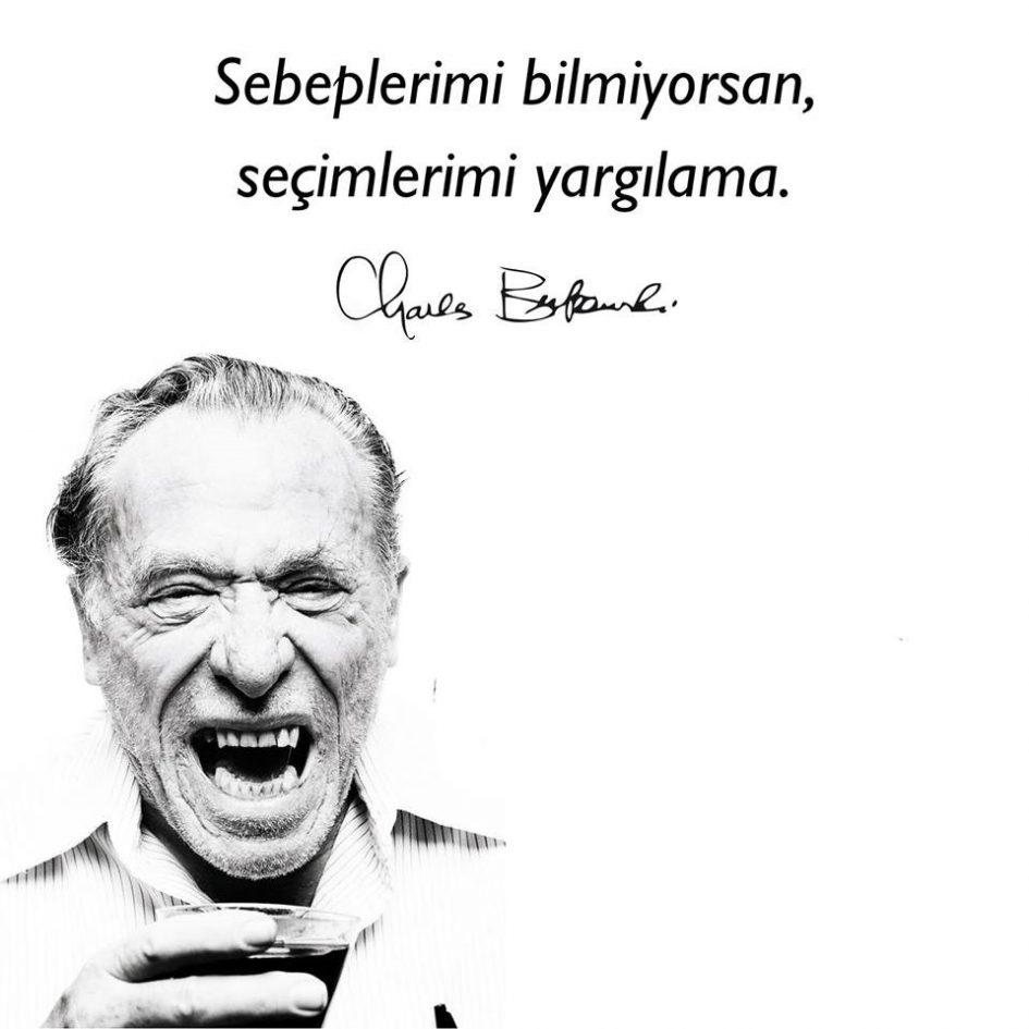 Seçimlerimi Yargılama, Charles Bukowski