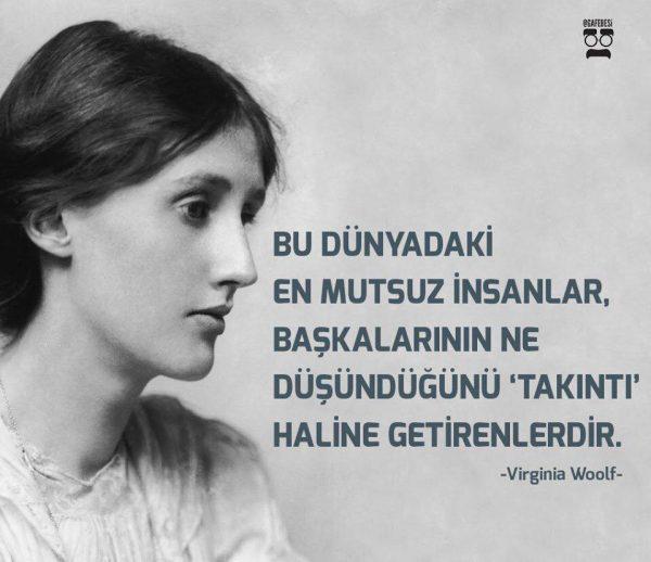 Takıntı, Virginia Woolf